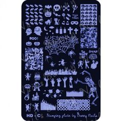 HD-C Nail Art Stamp Plate