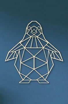 Atelier Creation, Stylo 3d, Motif Art Deco, Clay Wall Art, Polygon Art, Stick Art, Geometric Wall Art, Shadow Box, Metal Art