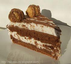 Ferrero Rocher, List Of Desserts, Romanian Food, Romanian Recipes, Food Cakes, Vanilla Cake, Tiramisu, Cake Recipes, Sweet Treats