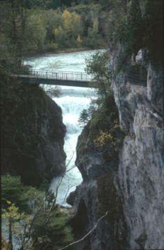 Lech gorges near Füssen (Michael Kleider)