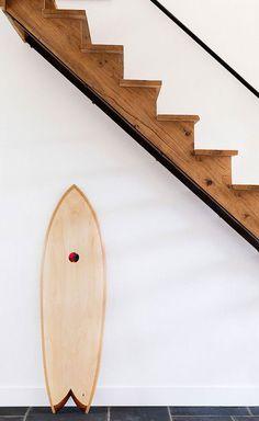 Apartment 34 | Trend Spotting: Surfbords as Home Decor. Heart Heart. I don't even surf.