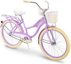 Huffy Cruiser Bike Women/'s 24 inch Deluxe Purple NEW