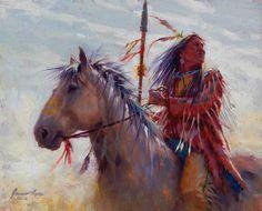 Undaunted Brave   Cheyenne   James Ayers Studio