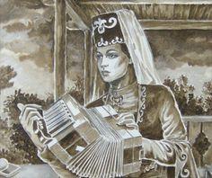 chechen art: MIZIKALI KIZ