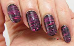 Brown SugarSpun Nails for Tri Polish Tuesday #2 Brown, Pink & Grey