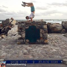 Fabulous #traveller of the day: @michealdowning  Tag #fabuloustravel to be featured  The southern most part of Africa Cape Agulhas where the Indian and Atlantic Oceans meet.