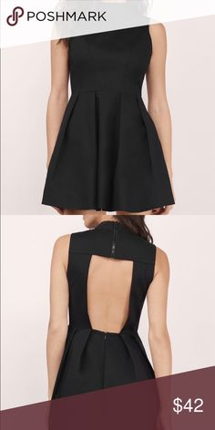 JUST LIKE ALICE SKATER DRESS Nylon, Rayon & Spandex  Polyester (Lining) Imported Dry Flat Tobi Dresses Mini