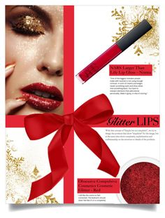 """So Sparkly: Glitter Lips"" by leslee-dawn ❤ liked on Polyvore featuring beauty and NARS Cosmetics"