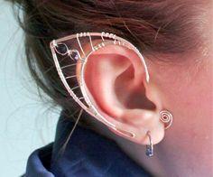 Silver Elf Earrings