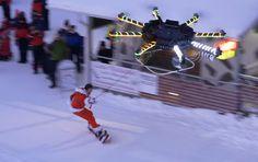Drone Powered Human Flight...