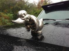 DEATH PROOF DUCK Hood Ornament (CONVOY Angry Rubber Duck)  www.deathproofduck.com