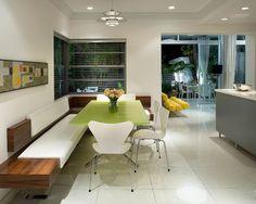 San Marino Island House - modern - kitchen - new york - Robert Kaner Interior Design