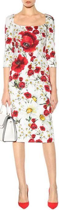 Daisy And Poppy-Print Dress