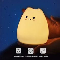 Get awesome stationery and gifts by visiting link in bio or go to www.otriostationery.com 💖 Free shipping to all countries! ✉️ For credit/copyright issue, please email us 🌈 #stationery #nightlight #squishy #lamp #kawaiistuff #kawaiilife #kawaiilifestyle Night Light, Light Up, Battery Lights, Night Lamps, Led, Desk Accessories, Stationery, Kitty, Nocturne