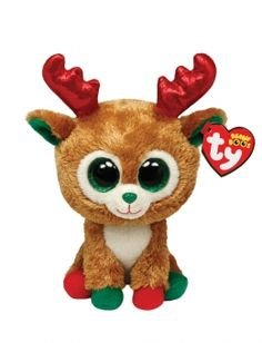 Alpine Reindeer Ty Beanie Boos are the cutest collectible plush friends in the world. From Unicorns to puppies and cheeky raccoons, there is a Beanie Boo friend for everyone. Ty Beanie Boos, Beanie Buddies, Ty Animals, Ty Stuffed Animals, Christmas Beanie Boos, Ty Peluche, Rare Beanie Babies, Ty Babies, Ty Toys
