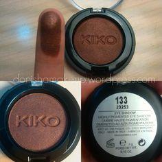 Kiko eyeshadow #133 Pearly Hot Chocolate