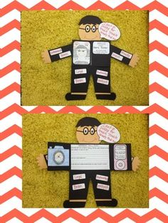 Book character project! So fun for the end of the year! :)