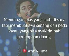 True😉 Bts Quotes, Qoutes, Swag Words, Bias Kpop, I Love You, My Love, Quotes Indonesia, Chanyeol, Captions