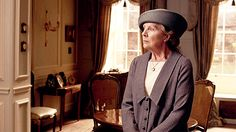 Meanwhile, the Dowager Countess's imperious friend Lady Shackleton (Dame Harriet Walter) is embroiled in a love triangle with Isobel Crawley and Lord Merton Penelope Wilton Downton Abbey Series 4