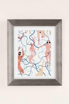 Rebecca Clarke Skinny Dippers Art Print