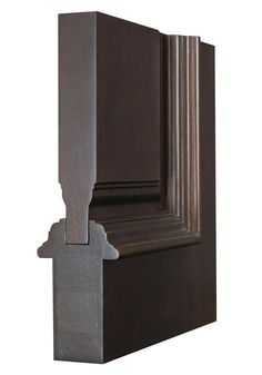 Classic Door with Dark Mahogany Finish