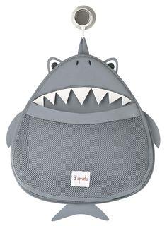 panier rangement jouet bain requin 3 Sprouts- toy bath storage whale