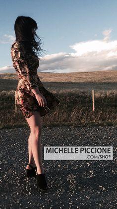 VINTAGE ZANONI by Jalete Multicoloured PRINT Patterned Velvet Long Sleeved Dress by MichellePiccione on Etsy