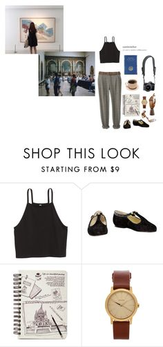 """""""She is my Mona Lisa"""" by to-many-stars ❤ liked on Polyvore featuring Rachel, Nixon, Reef and vintage"""