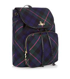 vivienne westwood winter tartan backpack Ireland Travel c3a183211b63f