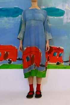 Daniela Gregis washed pittore dress