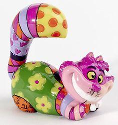 Alice in Wonderland - Cheshire Mini Character - Romero Britto - World-Wide-Art.com - $20.00