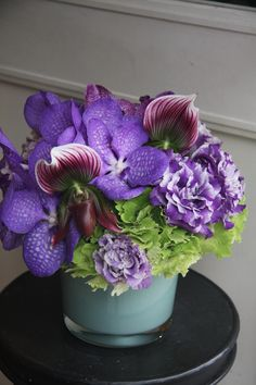 orchid,eustoma and hydrangea