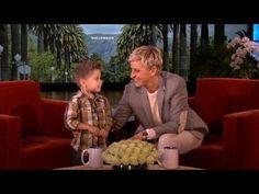 Ellen - Dustin Dances To Gangnam Style Song