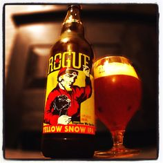 """""""Yellow Snow IPA"""" by Rogue"""