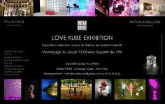 Love Kube Exhibition : Exposition collective autour du thème de la Saint-Valentin au Kube Hotel Paris - Du 14 février au 2 mars 2014 (from Feb 12th to Mar the 2nd, 2014)