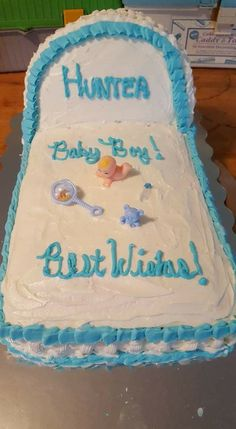 Cake I Made For My Nieces Baby Shower