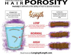 Choosing products and making adjustments based on the porosity of your hair is one way to take your healthy hair journey to the next level.