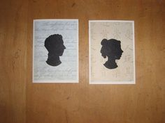 Silhouette Cards