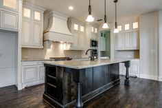 These beautiful cabinets are sure to impress any guests #ShaddockHomesTX #Kitchen #KitchenDesign #KitchenDecor