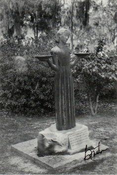 Bird Girl Statue On Pinterest
