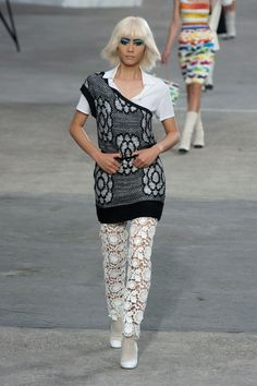 Chanel at Paris Fashion Week Spring 2014 - Runway Photos