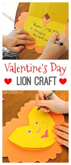 Valentine's Day Lion Craft Inspired by The Lion Guard! (Sponsored)