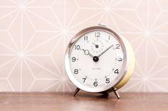 Vintage French Bayard Winding Alarm Clock