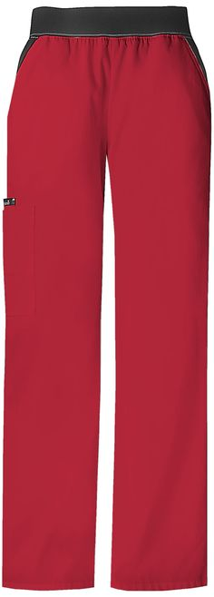 Cherokee Flexibles Mid-Rise Knit Waist Pull-On Pant (style 1031) | Cherokee4Less #scrubs #uniforms #nurses #nursing