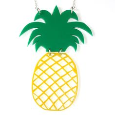Sour Cherry - Large Pineapple Necklace, $25.97 (http://www.sourcherry.co.uk/large-pineapple-necklace/)