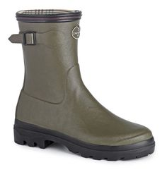 Le Chameau Ladies Giverny Low Boots - The boots are strong and sturdy and recommended for a days out hiking.