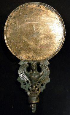 Harpy mirror from the tomb of King Seuthes III, Kazanlak, 3rdc BC, Bulgaria #thracian #tombs #mirror #bulgarian #kazanlak