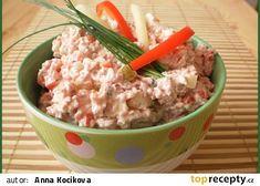 Czech Recipes, Ethnic Recipes, Pesto, Ham, Potato Salad, Oatmeal, Food And Drink, Potatoes, Snacks