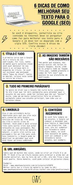 6 DICAS DE COMO MELHORAR SEU TEXTO PARA O GOOGLE