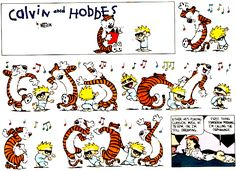 Calvin & Hobbes Cartoons | chortled, guffawed and then cried for 10 minutes straight .
